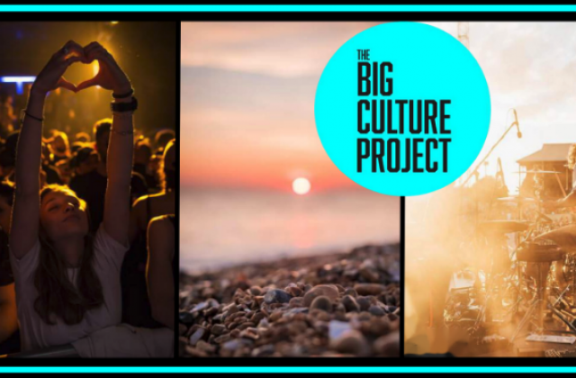 The big culture project crowd funder